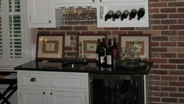 Custom Wet Bar